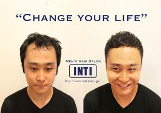 「ヘアデザインで人生を変える」