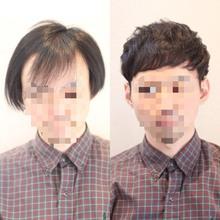 【M字 パーマ】実態報告!〜前髪が長くても割れない方法〜パーマ実例