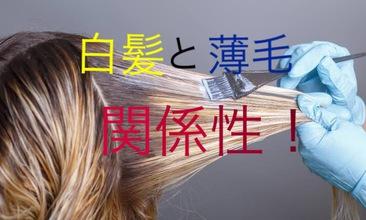 【女性 薄毛の悩み】 多くの女性が抱える悩み『白髪と薄毛の関係性』