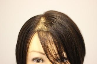 【女性 薄毛】メイクの間に!ペタンコ前髪とトップをボリュームアップ!!