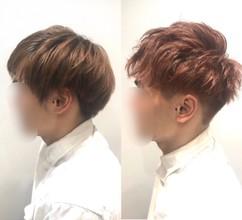【M字 カラー】カラーで薄毛と白髪を目立たせない方法