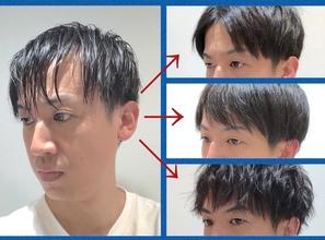 【20代 M字】人気俳優の前髪に挑戦してみた結果。。