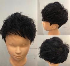 【薄毛 頭頂部】いつもの髪型にパーマをかけてボリュームをさらに出す!