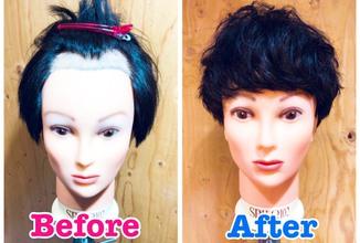 【Ⅿ字 髪型】パーマはM字の救世主!!M字でも割れない前髪あるんです!!