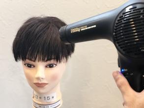 【円形脱毛 髪型】前髪に出来た円形脱毛をスプレーのみで簡単カバー