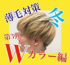 【薄毛 カラー】今の髪色に冬のトレンドをいれてみよう!