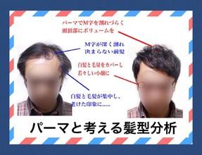 【M字 前髪】パーマと考える!!髪型分析!!