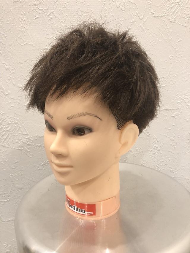 ツー 男性 ブロック 髪型