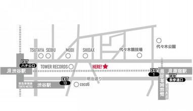 INTIへの地図