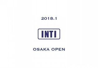 【ご報告】INTI大阪出店のご案内