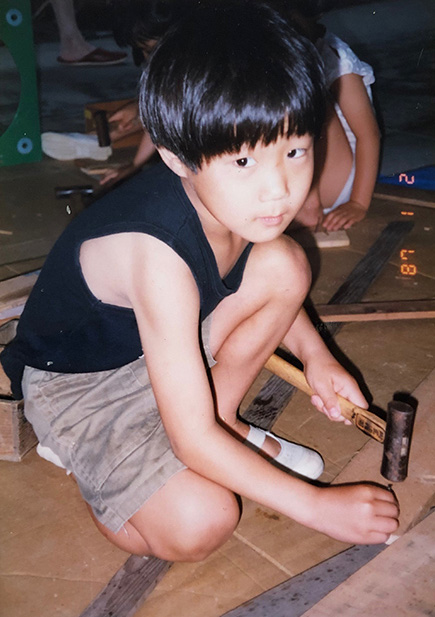 河村幼少時代2